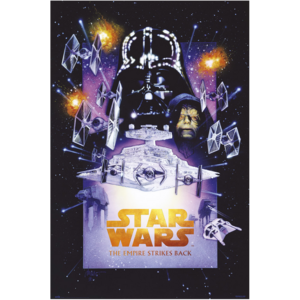 POSTER STAR WARS THE EMPIRE STRIKES BACK SPECIAL EDITION