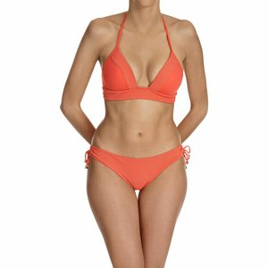 Cyell Outlet triangelbikini in oranjerood