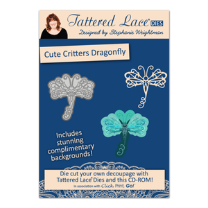 Tattered Lace Charisma Cute Critters Dragonfly