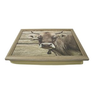 Lap Tray Swiss Cow