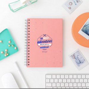 Notebook - The best Adventure begins with a Notebook