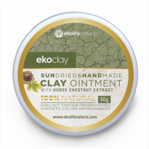 ekoclay Clay ointment for facial and body care withhorse chestnut 50g Plastic jar