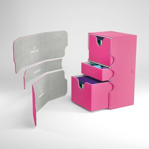 DECKBOX STRONGHOLD 200+ CONVERTIBLE PINK