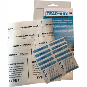 Tear-Aid type B Refill, 5 patches 14 x 7,6cm