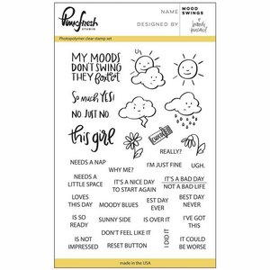 Pinkfresh Studio Clear stamp Mood swings