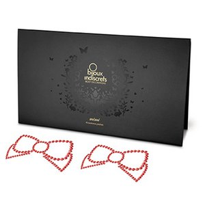 Bijoux Indiscrets - Mimi Nipple Cover Bow Red