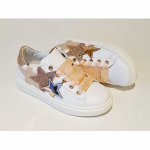 Morelli Sneaker M4A4-51225 Wit/Nude