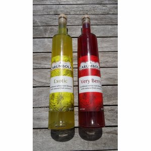 Duo pak/pack: CARUMBOLA Exotic 50cl & Very Berry 50cl I 22% I 2.5% korting/réduction