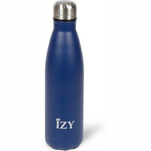 izy drinkfles blauw 500ml