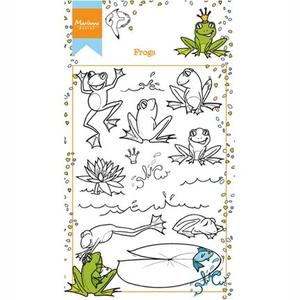 Marianne Design Clear stamp Marianne Hetty's frogs