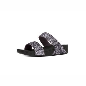 FitFlop Glitterball slide C63/pewter