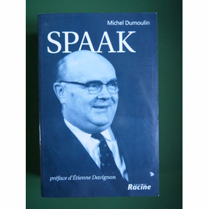 Boek Spaak - Michel Dumoulin