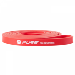 Pure Fitness Pro Weerstandsband Medium Rood