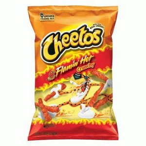 Cheetos - Flamin' Hot Crunchy 227 g