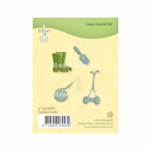 LeCreaDesign Clear stamp garden tools