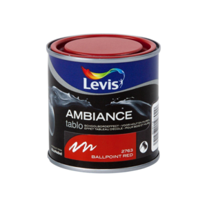 Levis Ambiance Tablo Ballpoint Red Extra mat 0,25L