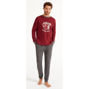 FeelFree Bordeaux Pyjama Voor Mannen H31942