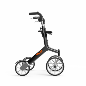 Trust Care Let's Go Out rollator zwart