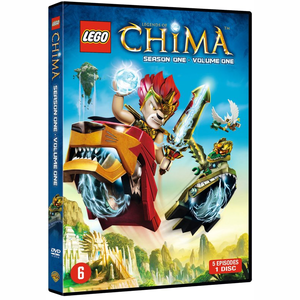 DVD LEGO Legends Of Chima - Seizoen 1
