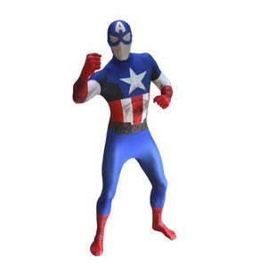 Morphsuits Captain America XL