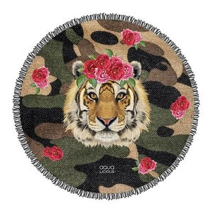Roundie Towel Tiger Rose