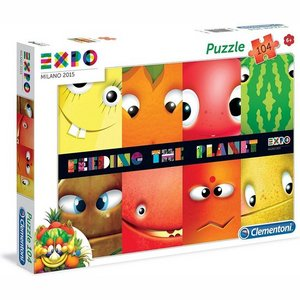Clementoni - Puzzel - Feeding the planet - 104 stukjes