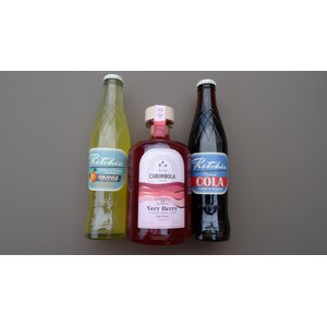 Cocktailset CARUMBOLA Very Berry met Ritchie limonade - 22% - 50cl