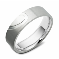 Dora Silver Passion Dames/heren ring C5925-004 Silver