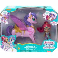 FISHER-Price - Shimmer & Shine Magical Flying Zahracorn + Shine