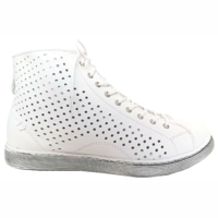 Andrea Conti Hoge Sneakers 0347905 wit