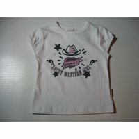 Witte t-shirt doggy 92/2J