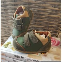 Peuter schoentjes Step up Army/Caramel Tumble Boot