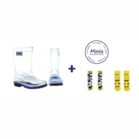 SQUELCH Set Welly Boots + Socks