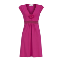 Ringella - Chérie Line - Beach Dress - 7271028 - Magenta
