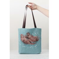 Tote Bag - Otters