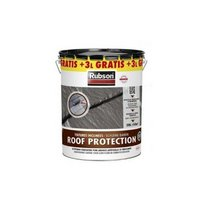Rubson Roof Protection Coating +3l gratis Dakcoating en Gootcoating - 23 Liter - Antraciet