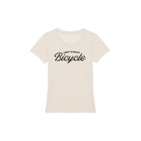 I want to ride my Bicycle t-shirt Dames XS Neppy Mandarine