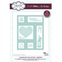 Creative Expressions Die The Shadow Box Collection Wedding