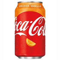 Coke Orange Vanilla Import USA 35 cl
