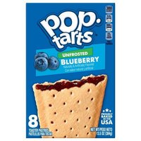 Pop Tarts - Unfrosted Blueberry