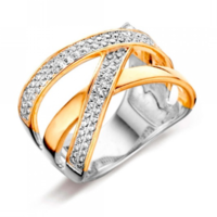 Silver Rose Ring R2036G
