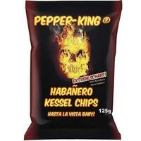 Pepper-King Habanero Chips 125 gr. Content: 10.00 stuk