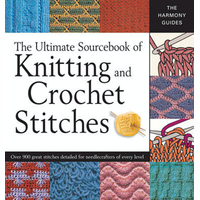 ULTIMATE BOOK KNITTNG CROCHET STITC
