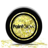 PaintGlow - Chunky Cosmetic Glitter, Gold Digger, 3g
